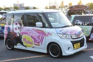 【ほぼ全て】お台場痛車天国2018  Odaiba itasha tengoku, customized anime sticker car fetivalMiscellaneousItasha Sticker 41