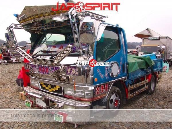"Photo of MITSUBISHI Canter flat body Art truck, team Maryukai, ""Mikihime"""