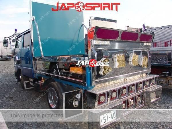 "MITSUBISHI FUSO Canter GUTS, Duble cab art truck, team ""Koroshio sendan"" (3)"