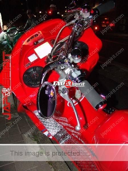 YAMAHA Majesty 2nd, red color and big muffler (4)