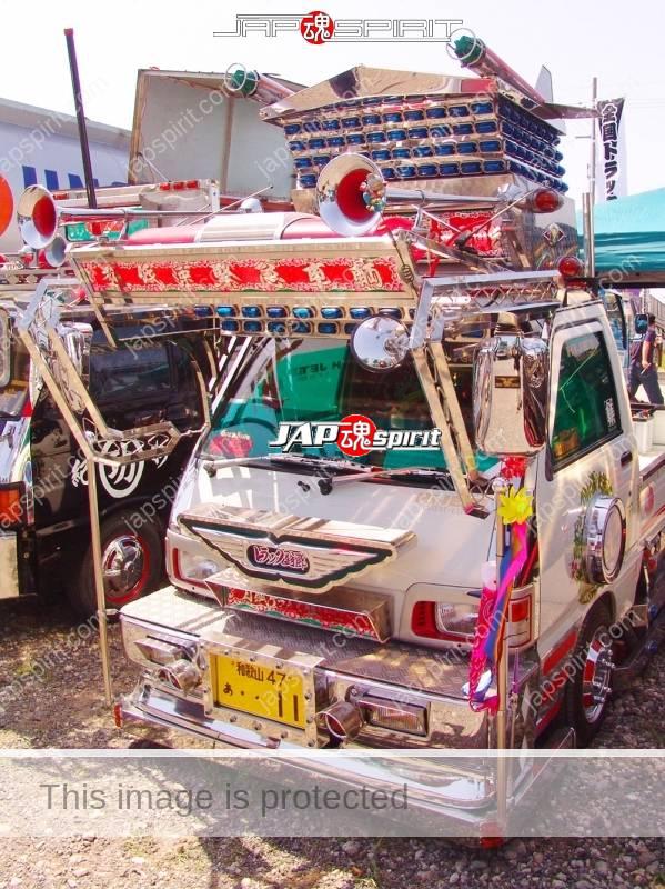DAIHATSU Hijet, art truck style, wide visor, flat body mini truck,