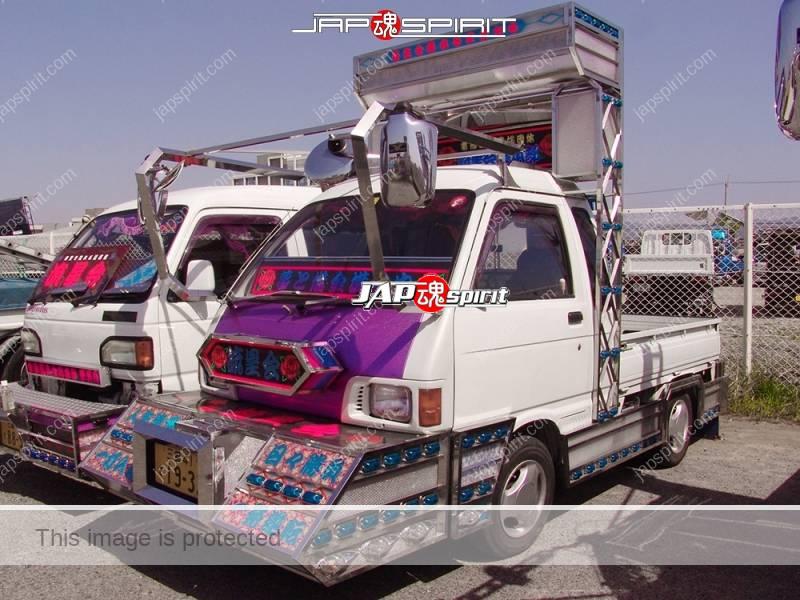 DAIHATSU Hijet, Art truck style, minitruck type. team Ryuseikai (2)