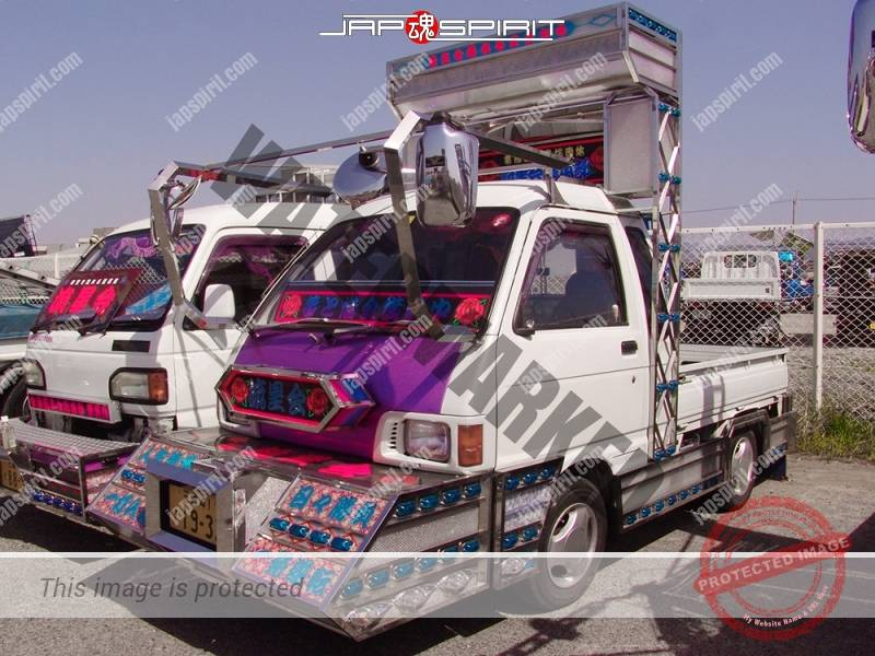 Photo of DAIHATSU Hijet, Art truck style, minitruck type. team Ryuseikai