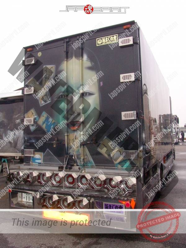 Kimagurekai's Fuso fighter, Art truck style with scarcely Noh air brush paint (3)