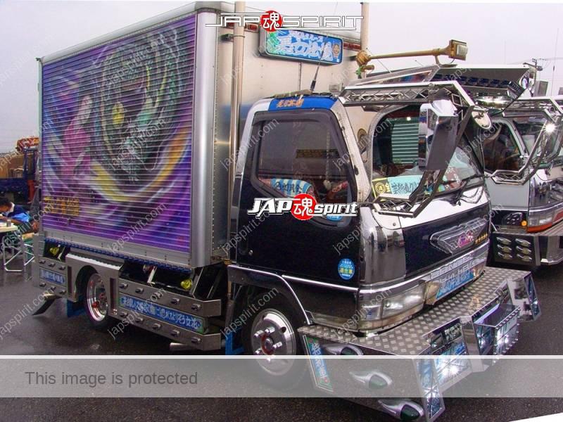 Akujodensetsu FUSO Canter art truck with Sekigushikougei paint (1)