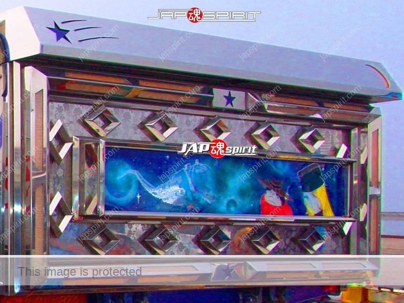 Ryu densetsu (Dragon legend) ISUZU Elf art truck with Rocket lancher style lamp & anime paint (5)