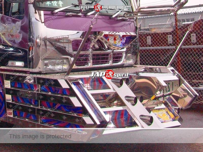 ISUZU GIGA Art truck Shourimaru, Dump truck, special bumper shape (3)