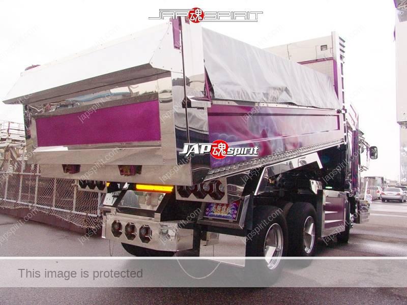 ISUZU GIGA Art truck Shourimaru, Dump truck, special bumper shape (2)