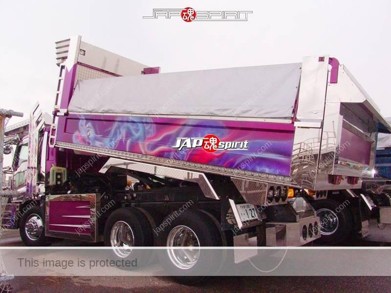 ISUZU GIGA Art truck Shourimaru, Dump truck, special bumper shape (1)