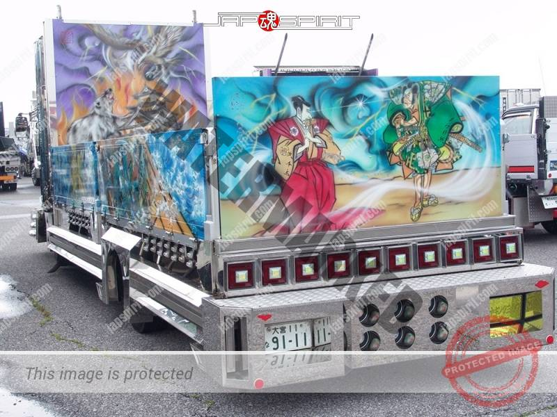 Abareguma FUSO Fighter with Samurai Ninja paint by Art king Yokawa (4)