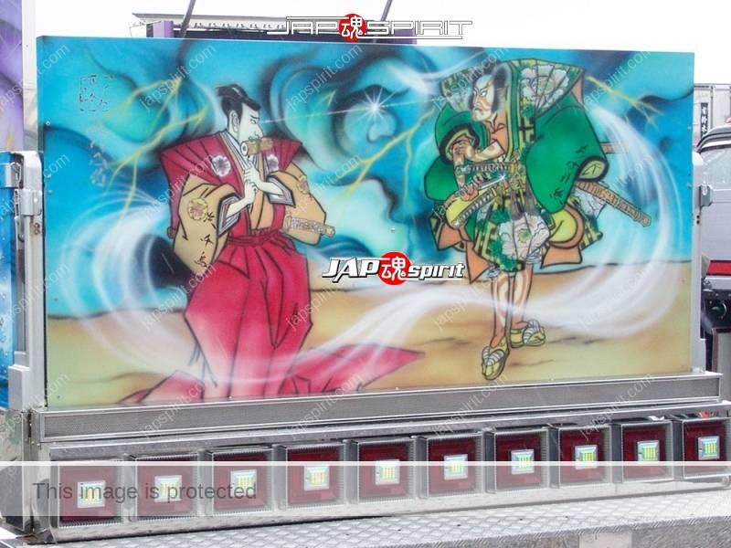 Abareguma FUSO Fighter with Samurai Ninja paint by Art king Yokawa (2)