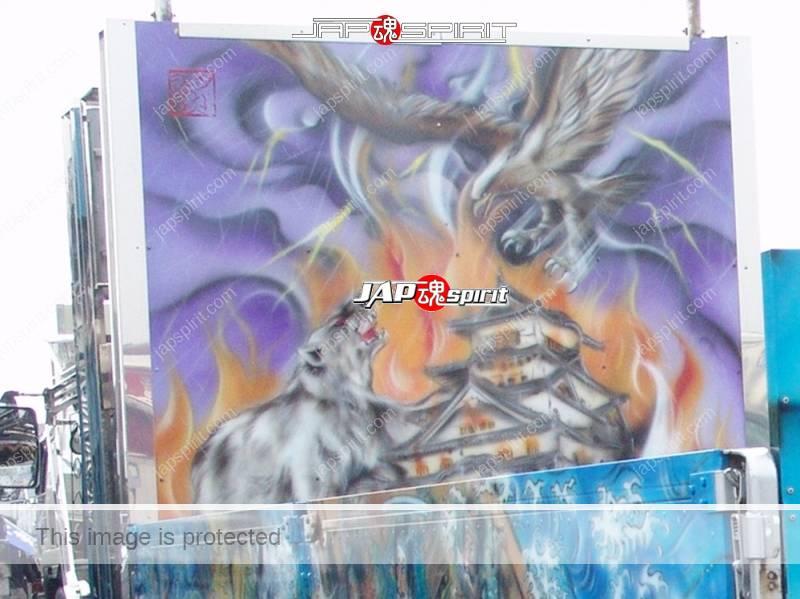 Abareguma FUSO Fighter with Samurai Ninja paint by Art king Yokawa (1)