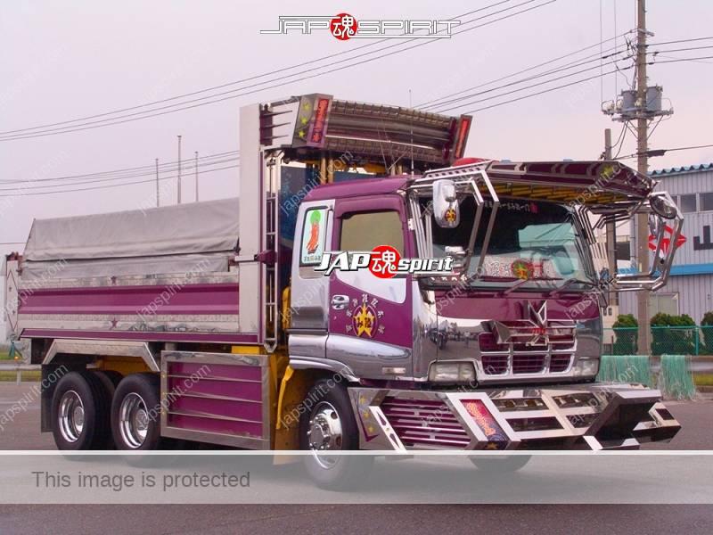 "ISUZU GIGA, Dump truck, art truck style, team ""Kantou Migumi"", Doukeshi (Pierot) (2)"