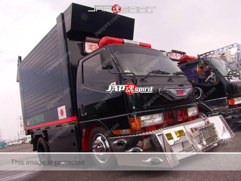"""MITSUBISHI FUSO Canter, Art truck style team """"Kurayamitokkyu sendan"""" Koihimegou (2)"""