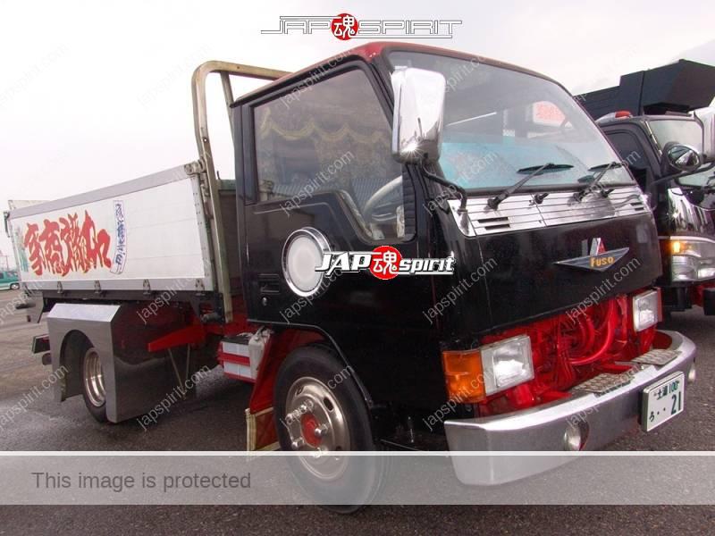 MITSUBISHI FUSO Canter, Art truck style, Suzukikougei airbrush paint, carp piture (1)
