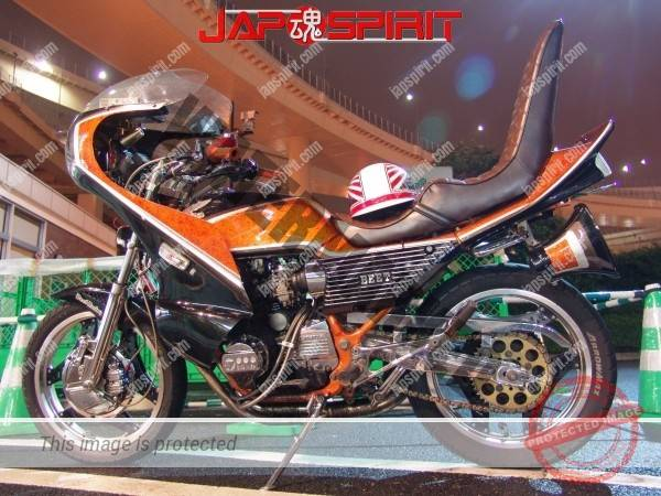 Photo of HONDA CBX400F, Zokusha style