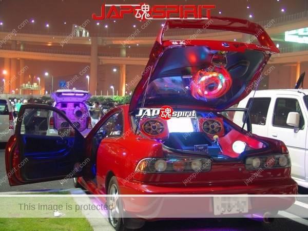 ACURA Integra 3rd (HONDA), Sotomuki style sound car with monitor & beautiful lighting (2)