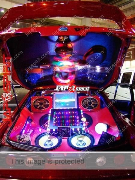 ACURA Integra 3rd (HONDA), Sotomuki style sound car with monitor & beautiful lighting (4)