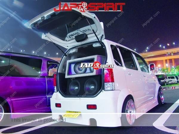 Photo of SUZUKI WagonR 2nd MC, Sound car with over fender & deep rim wheel