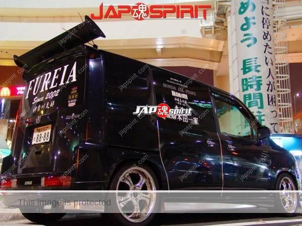 "HONDA Mobilio spike, Sotomuki style sound car, team ""Souyuukai, kokushoku honda ikka"". (3)"