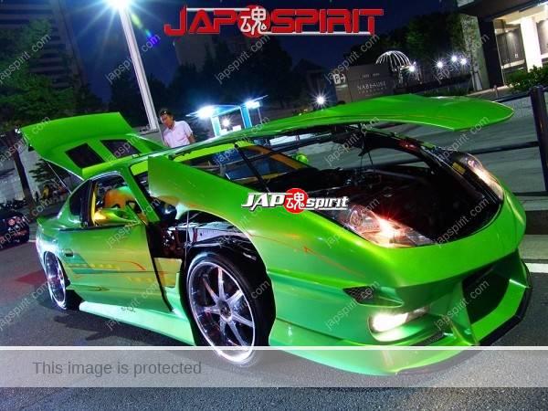 TOYOTA Celica T230, Cool gimik custom, beautiful green chrome plating wheel (3)