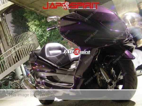 YAMAHA Majesty, long wheel base custom, black color (3)
