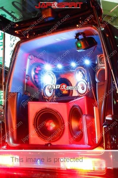 "HONDA Mobilio spike, Sotomuki style sound car, team ""Souyuukai, kokushoku honda ikka"". (2)"