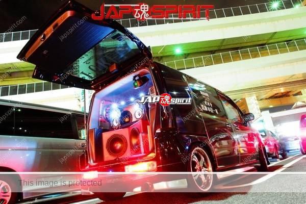"HONDA Mobilio spike, Sotomuki style sound car, team ""Souyuukai, kokushoku honda ikka"". (1)"