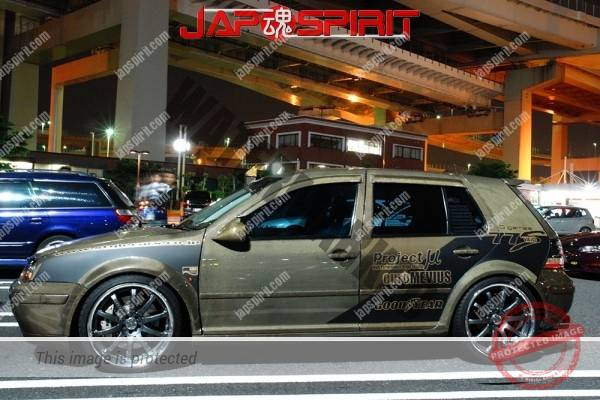 Volkswagen Golf Mk3, Hashiriya style carbon paint (1)