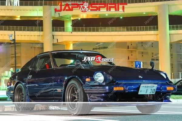 NISSAN Fairlady Z 2nd S130, Hashiriya style, deep blue color