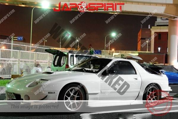 MAZDA RX7 FC, Spokon style, GT wing & seem to be maniac custom around front fender (3)