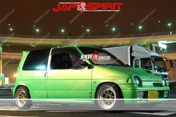 SUZUKI ALTO 3rd Works, Hashiriya style, green color (2)
