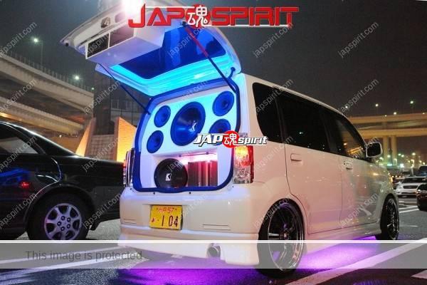 Photo of SUZUKI Wagon R, Sound car with purple under neon lighting & blue room lighting with big built in speaker
