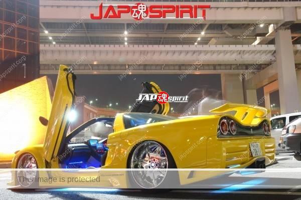 HONDA / ACURA NSX, Masterpiece tuning, metal plating wheel, Scissor door, blister fender, vivid yellow color (5)