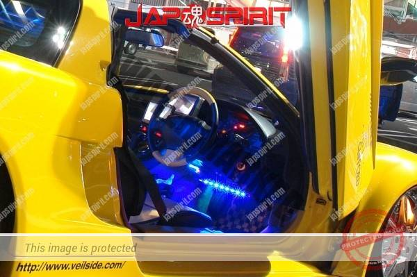 HONDA / ACURA NSX, Masterpiece tuning, metal plating wheel, Scissor door, blister fender, vivid yellow color (1)