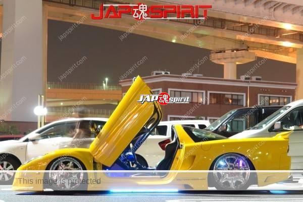 HONDA / ACURA NSX, Masterpiece tuning, metal plating wheel, Scissor door, blister fender, vivid yellow color (3)