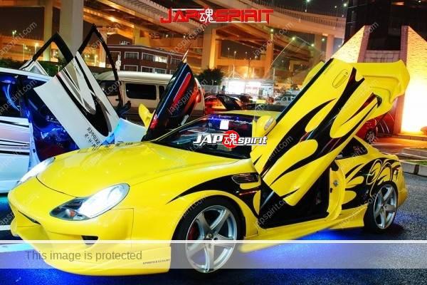 TOYOTA Supra A80 (Porsche boxster 986's head light & ATENZA F20 Rear light) scissor door & AV system (4)