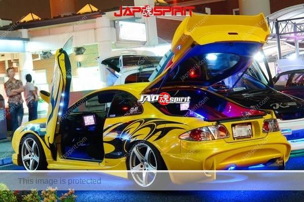 TOYOTA Supra A80 (Porsche boxster 986's head light & ATENZA F20 Rear light) scissor door & AV system (2)