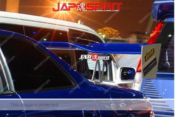TOYOTA Mark II 7th x90, Street drift style, blue color, GT wing, Aero spoiler (1)