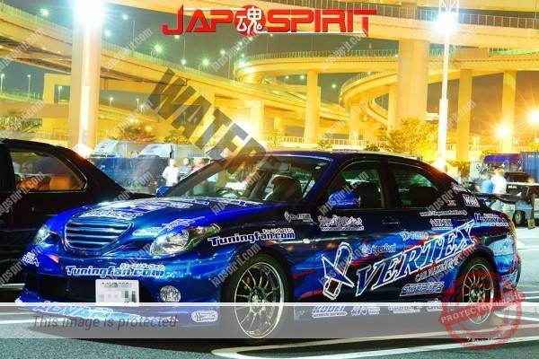 Photo of TOYOTA VEROSSA , Street drift style, vinylgr aphic, blue and lots of sticker