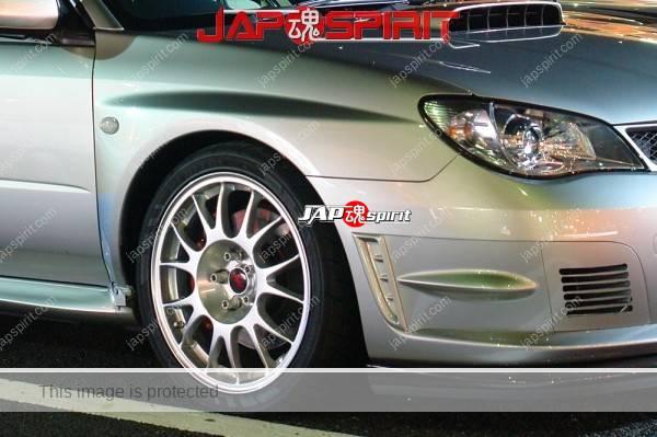 SUBARU IMPREZA 2nd WRX STI Third facelift sedan, silver color (1)