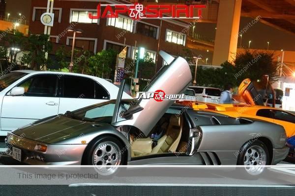 Lamborghini mid night party, Diablo & Murcielago, Beautiful lighting is very exciting & super cool! (13)