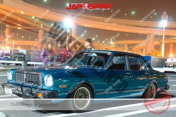 TOYOTA Chaser 1 st, Seitoha style, exposed inter cooler in front of front gril (2)