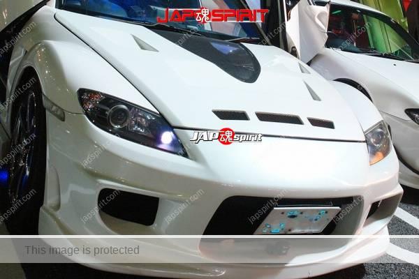 MAZDA RX8, Spokon style, Scissor door, special aero bonnet, blue lighting (4)