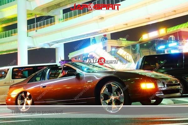NISSAN Z car (Fairlady) Z32, Lowrider style, hydraulics installed (1)
