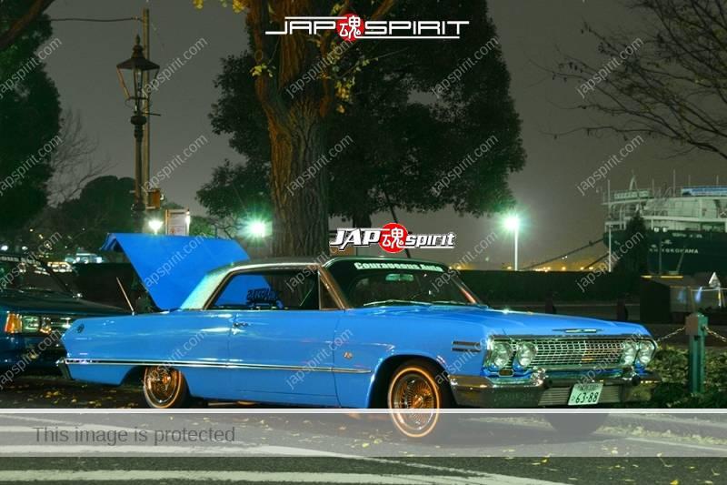 CHEVROLET Impala 1963 lowrider light blue color team Courageous auto (3)