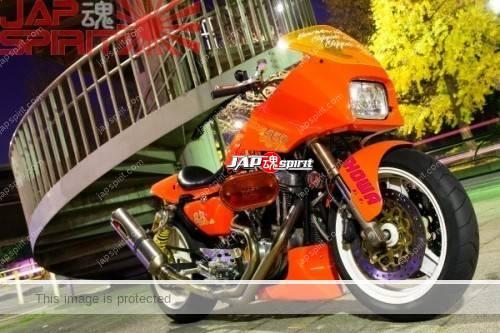 Photo of Astonishing Harley customised bike, by Yutaka Shoji