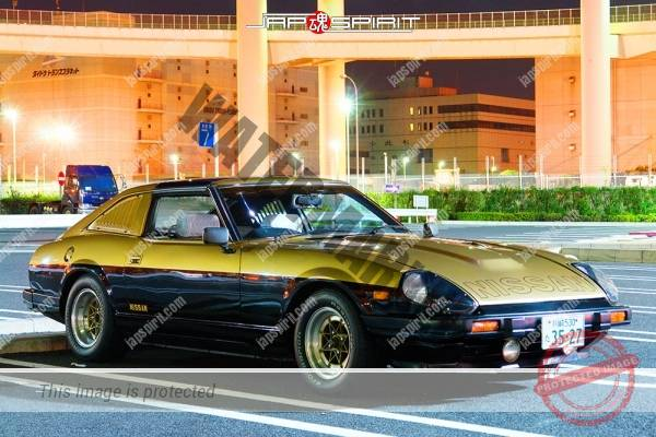 NISSAN Fairlady (Z car) 2nd S130, replica of Seibukeisatsu (police dorama) (1)