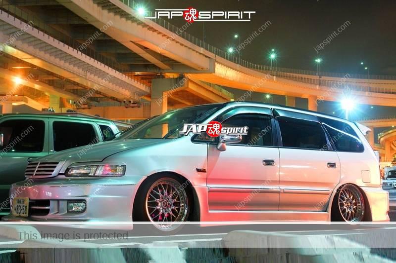 HONDA Odessay dress up car style, silver color at Daikoku PA (2)