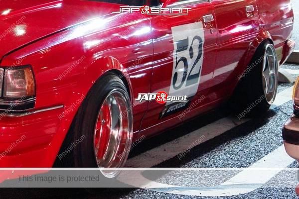TOYOTA Cresta 1st 50/60, Zokusha style, ovrt fender & wide wheel, (1)